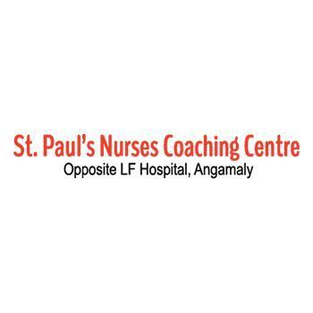 St.Paul's Nurses Coaching Centre opportunity for Nurses, Pharmacists and optometrist in Angamaly, Ernakulam