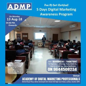 Job Oriented Training in Gwalior in gwalior, Gwalior
