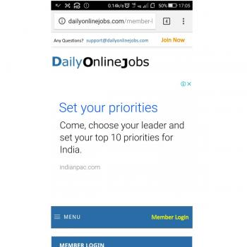 Daily on line jobs in Ahmedabad