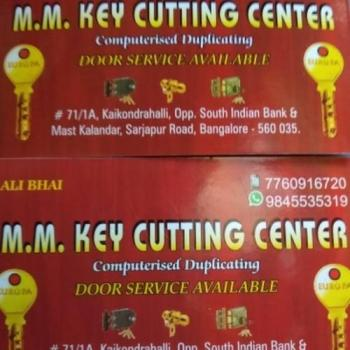 M.M key Cutting Center in Bangalore