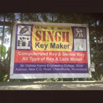 Singh Key Maker in Ahmedabad