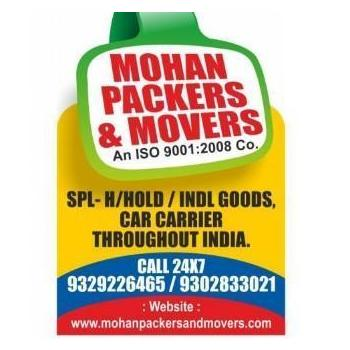 Mohan packers and movers in Bilaspur