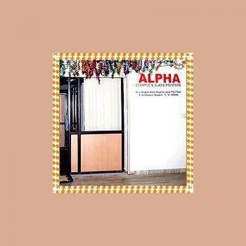 Alpha Ceramic and Glass Printers in Bangalore