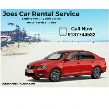Joes car rental goa in Dabolim