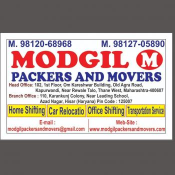 Modgil packers and movers thane in Thane