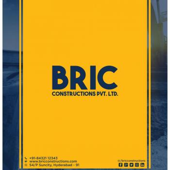 BRIC Constructions Pvt. Ltd in Hyderabad