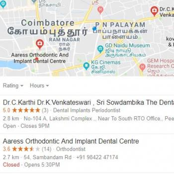 Aaress Orthodontic and Implant Dental Centre in Coimbatore