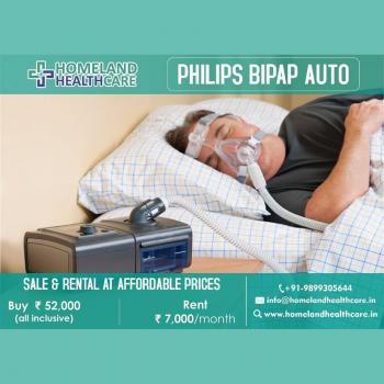 Bipap Machine On Rent in Delhi in Faridabad
