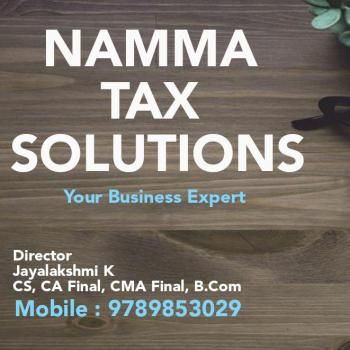 Namma Tax Solutions in Chennai