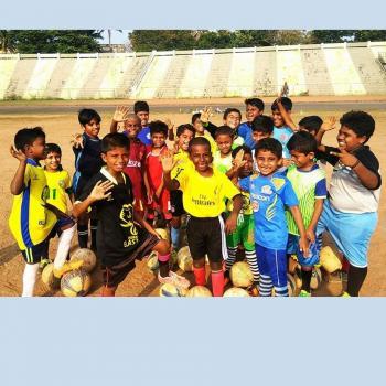 Grassroots football training center
