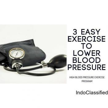 High Blood Pressure Exercise Program in Karachi