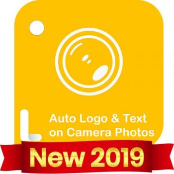 Auto Add Logo Copyright with Text on Camera Photos in Surat