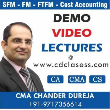 CA CS CMA Video Classes in Delhi