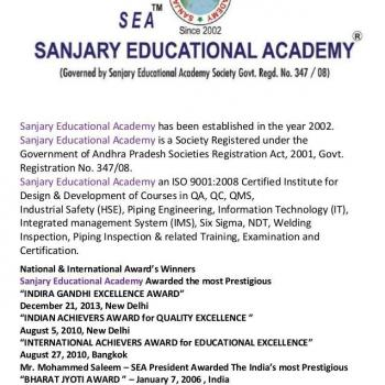 sanjary academy in hyderabad