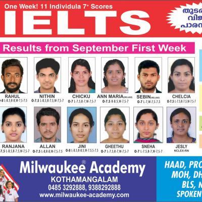 Milwaukee IELTS  Academy