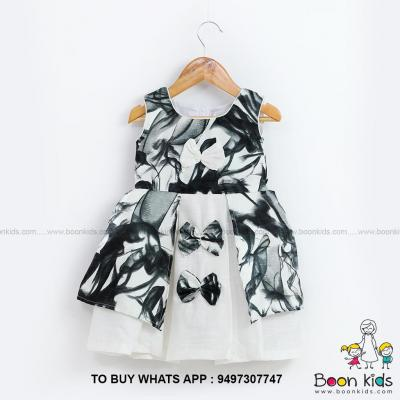 Butterfly frock black at Boon Kids in Kothamangalam