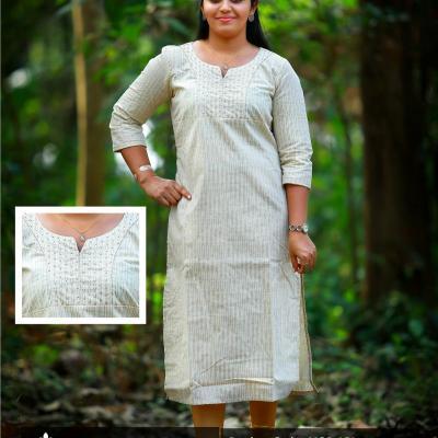 Casual wear kurti at Mooneepond in Ernakulam