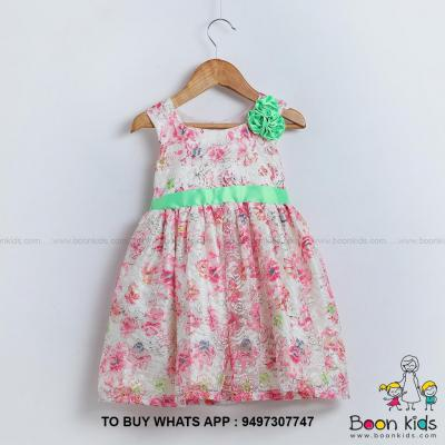 Vintage rose pink frock at Boon Kids in Kothamangalam