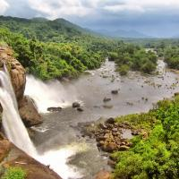Athirapally Falls at Olive Vacations in Kothamangalam