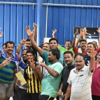 Badminton Courts at DRONA Badminton Academy in Tiruchirappalli