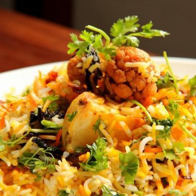 Briyani Special at B4U Restaurant in Kothamangalam