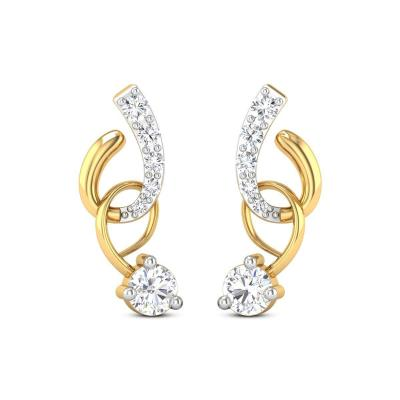 Earrings at TIANA GOLD AND DIAMONDS in Kothamangalam
