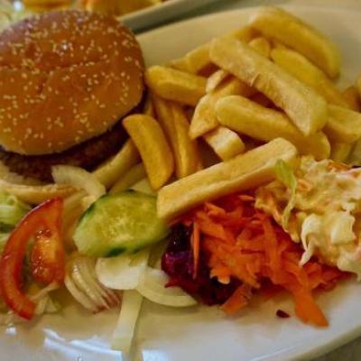 Fries Special at B4U Restaurant in Kothamangalam