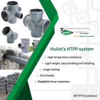 HTPP Pipes at Huliot Pipes and Fittings Private Limited in Vadodara