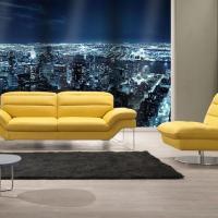 Audrey Italian Leather Sofa at Primo Furniture in Mumbai
