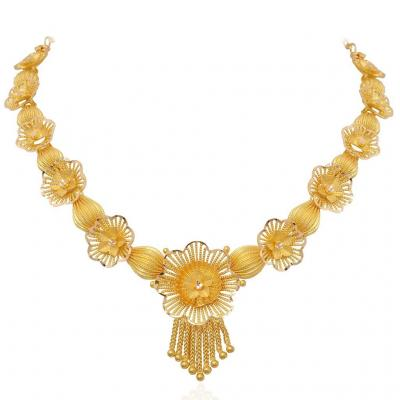 Necklace at Kairali Jewellers in Adivad