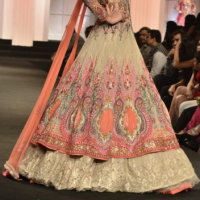 Yellow &Red Anarkali Suit at Anjalee and Arjun Kapoor in Delhi