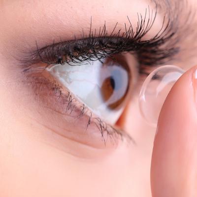 Contact lens at Valiyatharayil Mercy Opticals in Thodupuzha