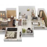 2 BHK flat at Tanishq  Realities in Alandi