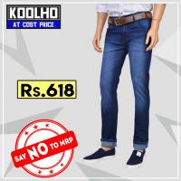 Jeans for men at Koolho in Gurugram