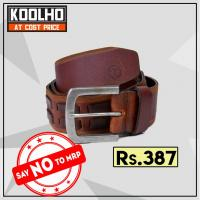 Leather belt at Koolho in Gurugram