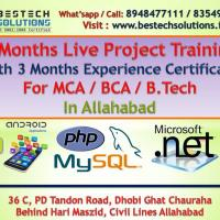PHP with Project at BESTECH SOLUTIONS in Allahabad