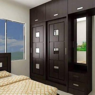 Bedroom  Cupboard at Sunny Dawn Wood in Chalakudy