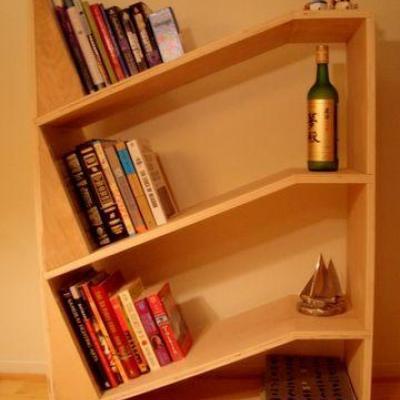 Book  shelf at Sunny Dawn Wood in Chalakudy