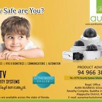 CCTV Installation across Kerala - AURA at AURA BUSINESS SOLUTIONS in MAVELIKKARA