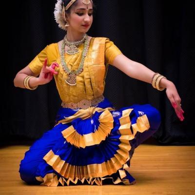 Bharatanatyam Costume at Prayaag Dance Collection in Kothamangalam
