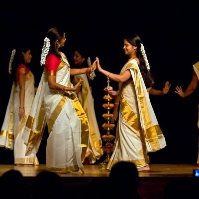 Thiruvathira Costumes at Prayaag Dance Collection in Kothamangalam