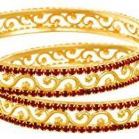 Bangles at Variety Micro Gold Covering in Kothamangalam