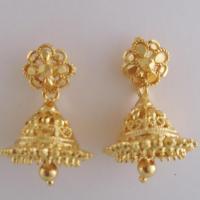 Ear Ring at Variety Micro Gold Covering in Kothamangalam