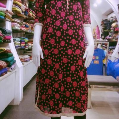 Designer Kurtis at What Shajal Did in Kothamangalam