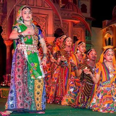 Gujarati Dance Costumes at Fine choice & Dance Collection in Chalakudy