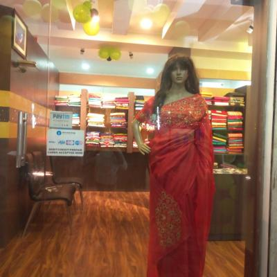 Sarees at Bridal Beauty in Thrippunithura