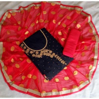 Designer Materials at Palace Boutique in Thrippunithura