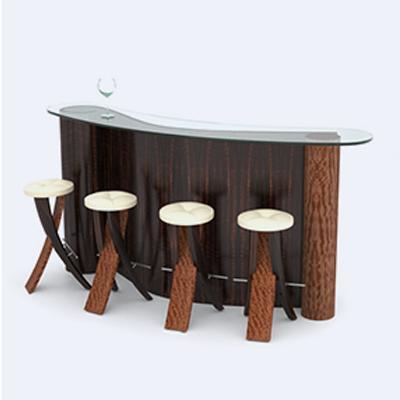Bar Counters at Paragon Wood in Mannar