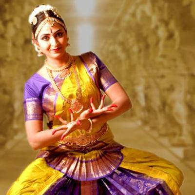 Bharatanatyam costumes at Mazhavil Dance Collections in Perumbavoor
