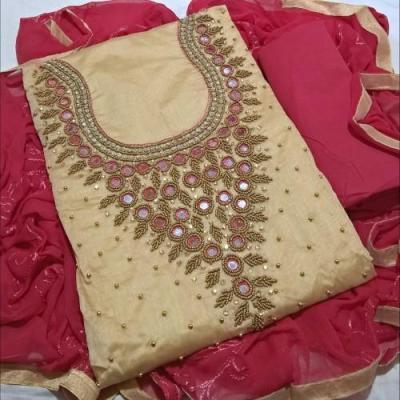 Churidar Materials at Palace Boutique in Thrippunithura